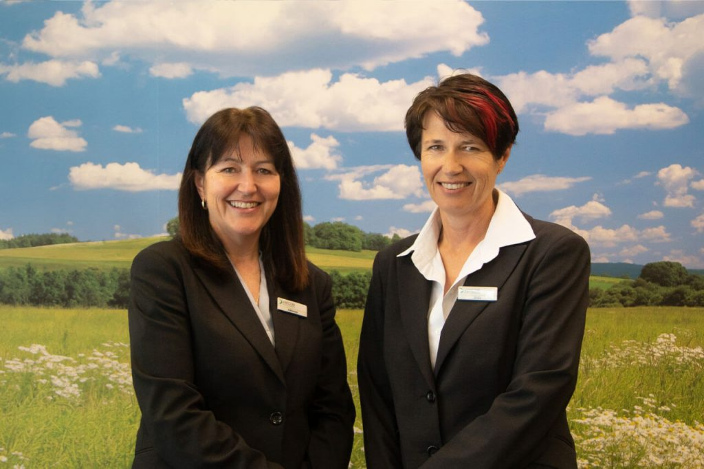 Adrienne and Linda from Vercoe Insurance