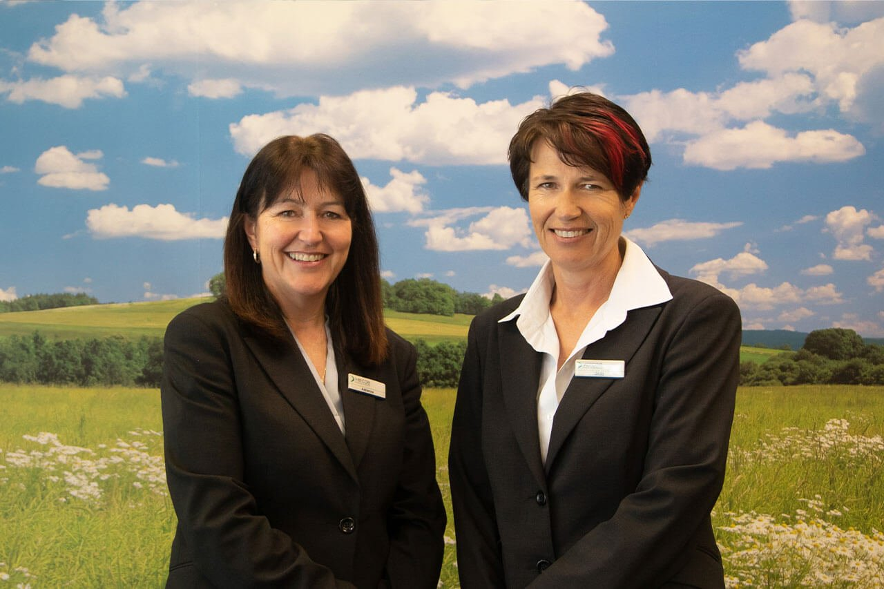 Adrienne and Linda from Vercoe Insurance