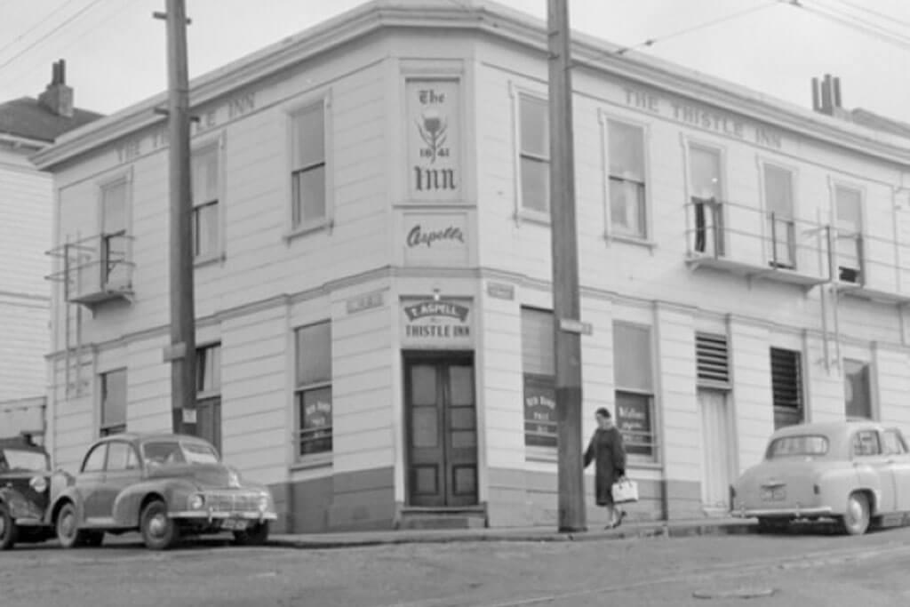 Thistle Inn Wellington 1840