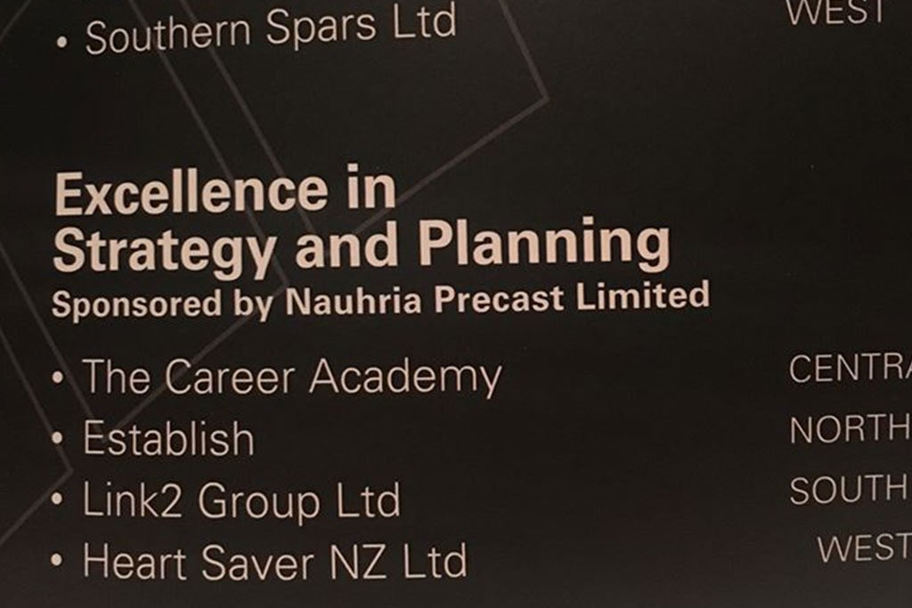 Excellence in strategy and planning