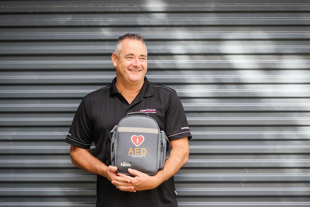 Mike Mander, Heart Saver