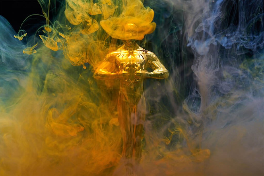 Smokey Oscar Awards statue