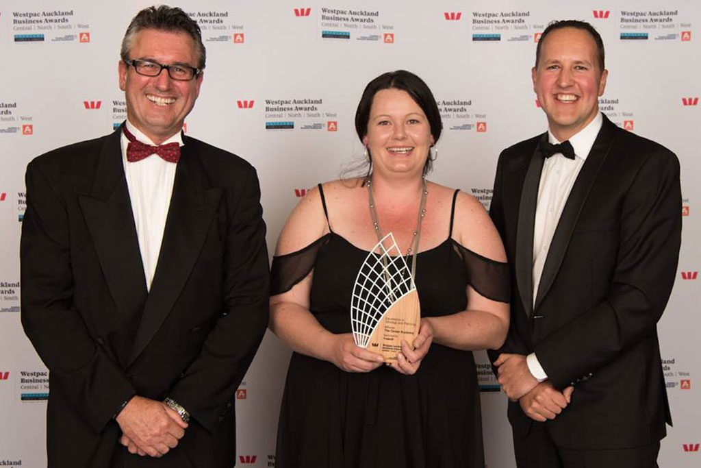 Business Changing clients win at Westpac Awards